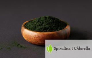 Algi Chlorella i Spirulina. Rozdział 12. Utrata masy ciała i dieta.