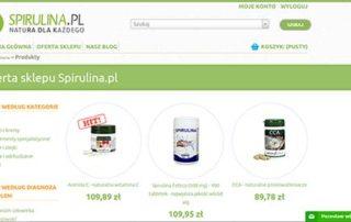 sklep.spirulina.pl - sklep partnerski Spirulina.pl