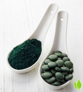 Spirulina - zdrowa żywność
