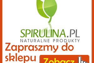 Zapraszamy do sklepu Spirulina.pl