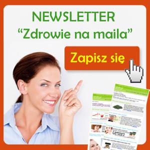 """Zapraszamy na nasz newsletter """"Zdrowie na maila"""". 1-2 razy w miesiącu otrzymasz informacje i ciekawostki na tematy zdrowia i zdrowego trybu życia. Aby się zapisać, zapraszamy  na naszą stronę"""