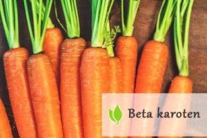 Beta karoten - pogromca wolnych rodników