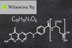 Witamina B9 (kwas foliowy) - niezbędna do produkcji energii