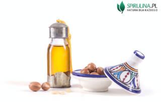 Olej arganowy z owoców Arganu (Argania Spinosa)