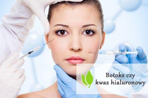 Botoks czy kwas hialuronowy