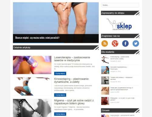 Portal Fizjoterapeuty – partner Spirulina.pl