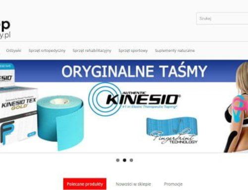 Sklep Fizjoterapeuty – sklep partnerski Spirulina.pl