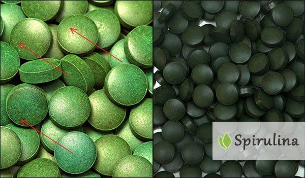 Nie ka da spirulina to spirulina algi spirulina i chlorella for Spirulina w tabletkach