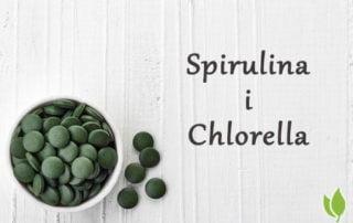 Spirulina i Chlorella podobne ale nie identyczne