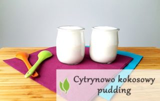 Cytrynowo kokosowy pudding