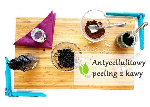 Antycellulitowy peeling z kawy
