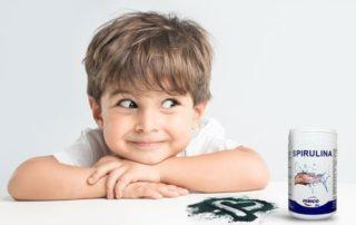 Spirulina dla dzieci - korzyści dla zdrowia i rozwoju