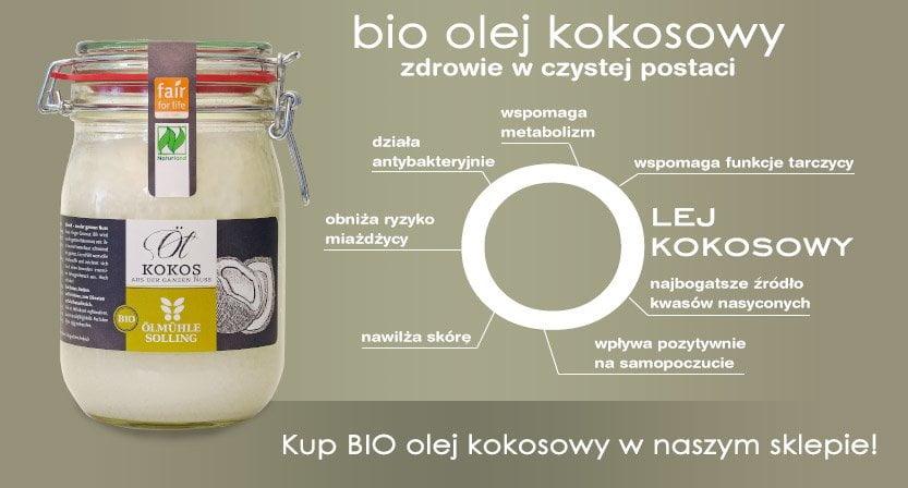 Bio Olej kokosowy