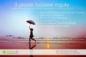 Trzy proste życiowe reguły - Spirulina
