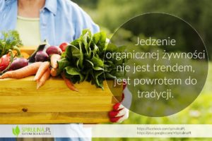 Jedzenie organicznej żywności - Spirulina