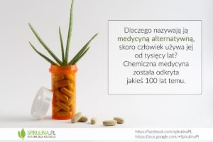 Medycyna alternatywna - Spirulina