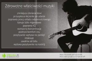 Zdrowotne właściwości muzyki - Spirulina