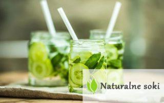 Naturalne soki na zdrową i piękną cerę
