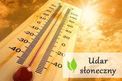Udar słoneczny - objawy i pierwsza pomoc