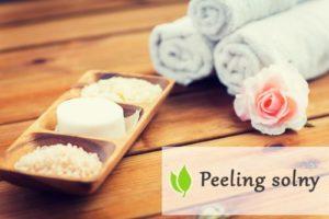 Peeling solny - właściwości pielęgnacyjne