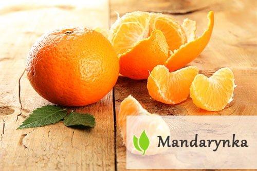 Mandarynka - właściwości zdrowotne