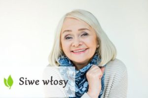 Siwe włosy - jak o nie dbać?