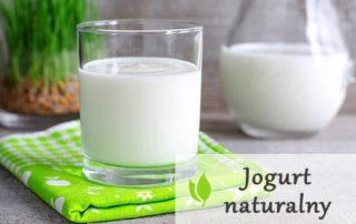 Jogurt naturalny - wpływa na zdrowie