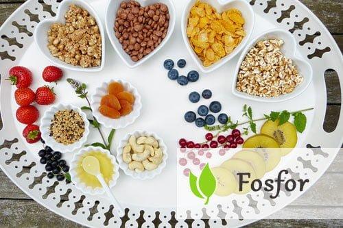 Fosfor - rola w organizmie człowieka