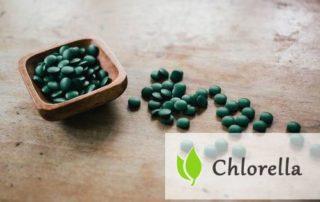 Chlorella - tabletki na oczyszczenie organizmu