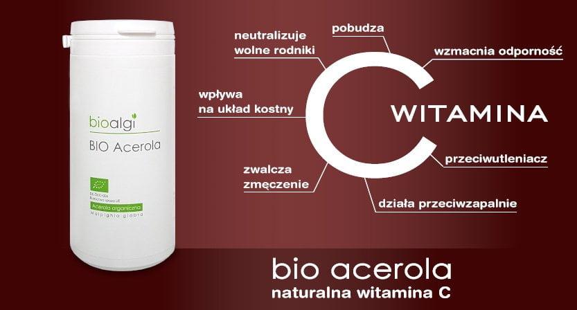 bio Acerola naturalna witamina C