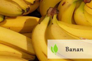 Banan - właściwości zdrowotne