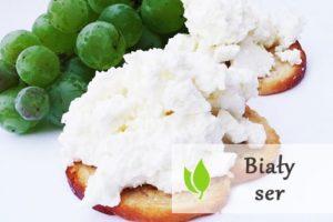 Biały ser - wartości odżywcze