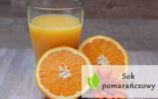 Sok pomarańczowy - wartości odżywcze