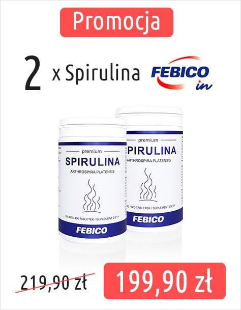 Promocja 2x Spirulina Febico