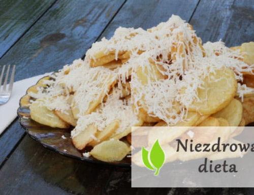 Niezdrowa dieta