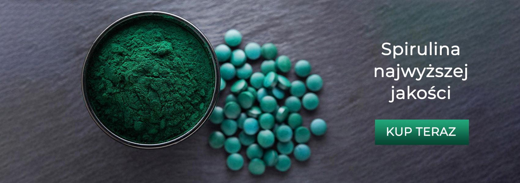 Spirulina platensis tabletki